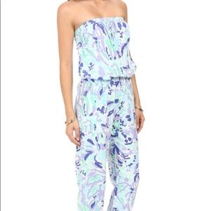 Lilly Pulitzer Lilac Emiko Jumpsuit XS